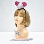 Набор карнавальный Мышь: хвост/ободок/бабочка. Стоимость: 145 руб.