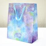 арт. BK999-D2 Пакет для подарков Облачные грёзы бирюзовый 32*26*12 см. Оптовая цена 65 руб.