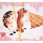1-20-0825 Конверты с Днём Рождения Мороженое, 10 шт. #61376
