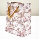 арт. BK1000-B1 Пакет для подарков Мрамор золото/коричневый 23*18*10 см. Оптовая цена 45 руб.