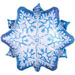 """Фольгированная фигура Anagram Снежинка, размер 50"""" #111010. Цена 115 руб."""