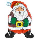 "Фольгированная фигура Flexmetal Супер Дед Мороз, размер 32"" #901518. Цена 120 руб."