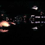彦根城 玄宮園ライトアップ
