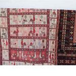 図案が国旗にも描かれる絨毯の一つ
