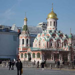 カザン聖母寺院 ソ連崩壊後 最初に復元した寺院