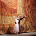 ミハイロフスキー劇場での観劇「ジゼル」カーテンコール
