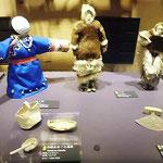 北方民族の手作りの子供の玩具