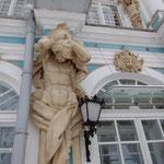 エルミタージュ夏宮の壁の装飾