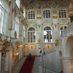 エルミタジュ美術館大階段