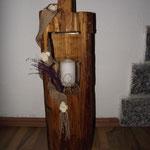 Kettensägenschnitzer, Holzskulpturen, Holzkunst , Holzstelen, Holzlaterne