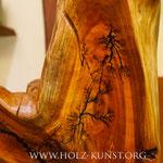 Kettensägenschnitzer, Holzskulpturen, Holz Kunst , Holzstelen
