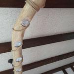 Kettensägenschnitzer, Holzskulpturen, Holzkunst , Holzstelen, Deckenlampe Massivholz