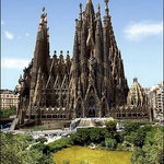 Собор Святого Семейства  в Барселоне.