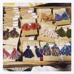 毛糸タッセルピアス ¥600