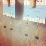 16candy series grape,blue ピアス