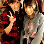 篠田麻里子公式ブログより「ヒラリー英語大活躍でした」とのコメント