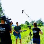Videodreh Musikvideo WENN DU HIER VORÜBER GEHST 20.07.2019   Foto by FMP