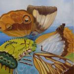 La baie de Glengariff (54 X 46 cm) 1989 ou 1990. Christine de Hédouville
