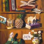 L'étagère de Frank (65 X 54 cm) 1998. Christine de Hédouville