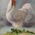 Hymne à l'Immortalité (46 X 28,5 cm)1989. Christine de Hédouville