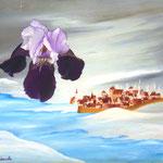 Une hirondelle ne fait pas le printemps (35 X 46 cm) Christine de Hédouville