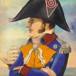 Le Colonel Gourgane (51 X 66 cm) 1973 Christine de Hédouville