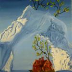 Le Réchauffement de la Planète (50 X 40 cm) 2004. Christine de Hédouville