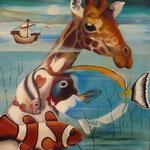 La faune Pélagique ( X ) 1993. Christine de Hédouville