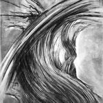 ONROUEG, Kohle, Bleistift, Kreide auf Papier, 2010