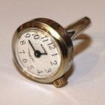 alte Armbanduhr (1,5 cm) Silberring