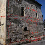 Le mur sud