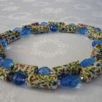 """KE1310, 81 cm, € 33,00 """"Sommerwiese"""", mit blauen Glassteinen"""