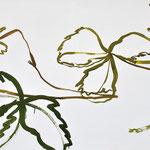 «Lachende Maus»  Tusche auf Leinwand 189x100cm verkauft