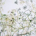 «Oheimatte» Tusche auf Leinwand 140x120 cm verkauft