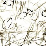 Nord 7.11.2007 Tusche auf Papier je 20x10cm