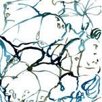 West 30.5.2007 Tusche auf Papier je 20x10cm