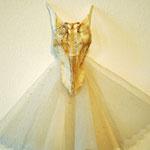 «kleine Meerjungfrau» Fischknochen, Tüll
