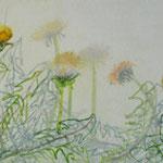 «Bärgblueme» V 2012 20x80cm, verkauft