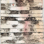 «Little Prayer», 10 x 15 cm,  mixed Media auf handgeschöpftes, indisches Büttenpapier, 2000/1999 verkauft