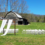 A beautiful spring wedding venue!