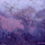 Blaulila IV 90 x 60 x 3,4 cm Acryl auf Leinwand ©Irene Ehlers 2017