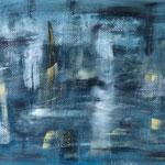 o.T. 60 x 40 cm Acryl auf Papier, © Irene Ehlers 2015