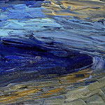 Am Meer VIII 20 x 20 x 4 cm Acryl auf Leinwand, ©Irene Ehlers 2014
