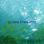 Colours III 25 x 10 x 1 cm Acryl auf Holz ©Irene Ehlers 2017