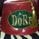 Custom fez for Doug DoRr