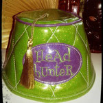 Custom fez for the head hunter