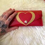 red love me wallet