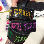 custom made belt for Sasa from the Flakers cc