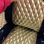 re-upholstered seats for Sasa´s Van