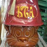 Custom fez for krazy tiki art